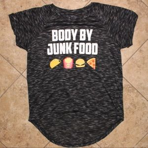 "NWT ""Body By Junk Food"" Emoji Graphic Tee💜"